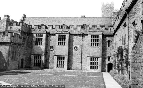 Photo of Wick, Inner Court, St Donats Castle c.1960