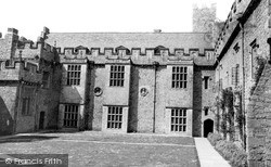 Inner Court, St Donats Castle c.1960, Wick