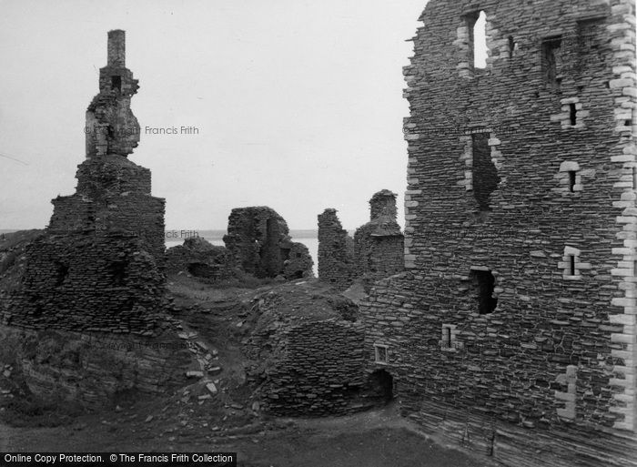Photo of Wick, Sinclair And Girnigoe Castles 1952