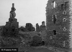 Wick, Sinclair And Girnigoe Castles 1952