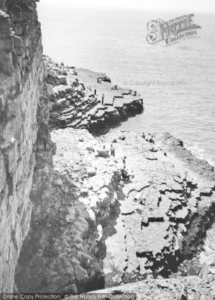 Photo of Wick, The Beach And Cliffs c.1960
