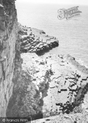 The Beach And Cliffs c.1960, Wick