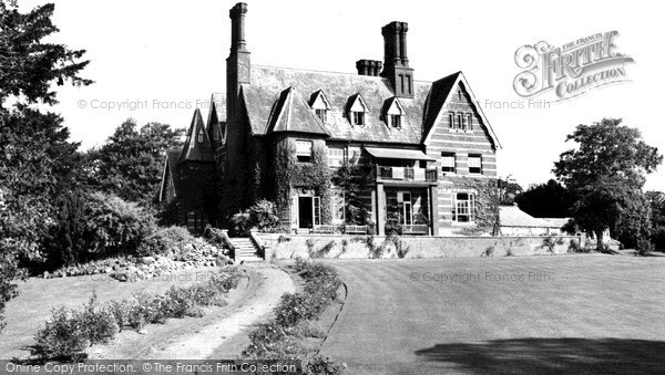 Photo of Wicken Bonhunt, Wicken House c.1955
