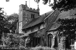 Wicken,  Church Of St Lawrence c.1955