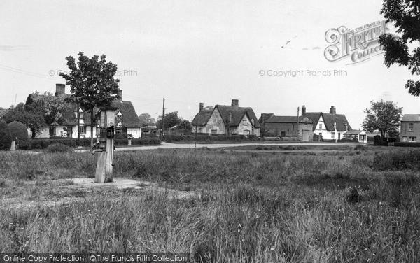 Photo of Wicken, Pond Green c.1955