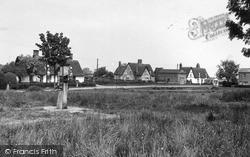 Wicken, Pond Green c.1955