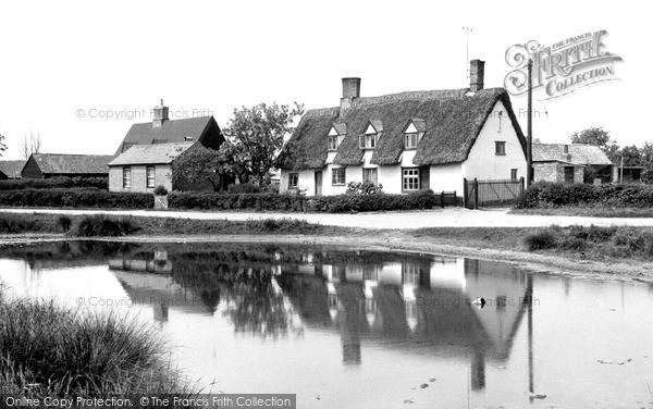 Photo of Wicken, The Pond c.1955