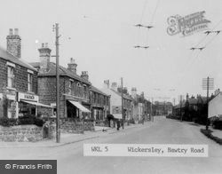 Wickersley, Bawtry Road c.1955