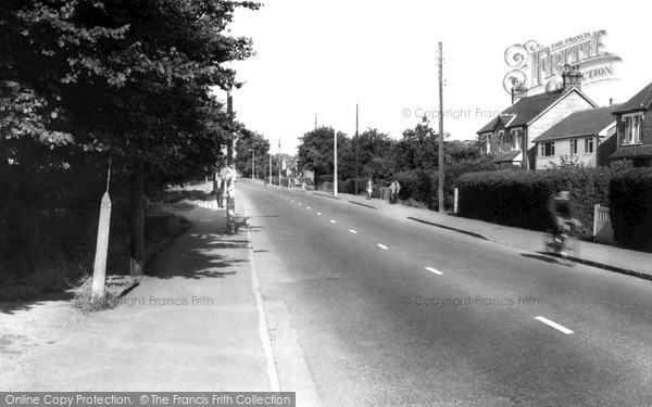 Photo of Wickford, Billericay Road c.1960