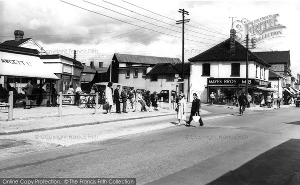 Photo of Wickford, Broadway Approach c.1960