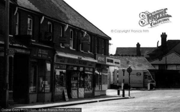 Photo of Wickford, Broadway Businesses c.1960