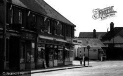Broadway Businesses c.1960, Wickford