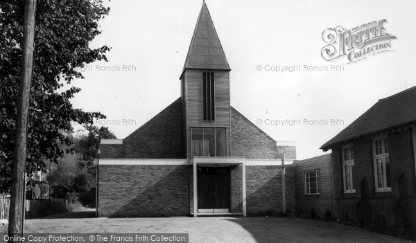 Photo of Wickford, Church c1965
