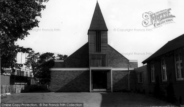 Photo of Wickford, Church c.1965