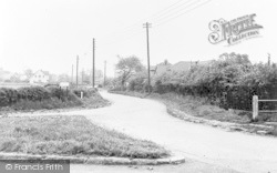 Wickford, Church Lane From Wantz Corner c.1955