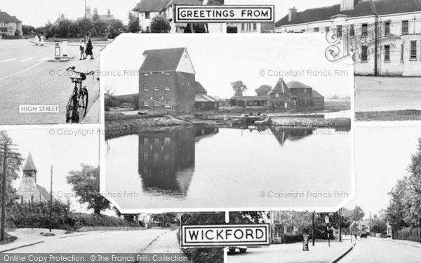 Photo of Wickford, Composite c.1955