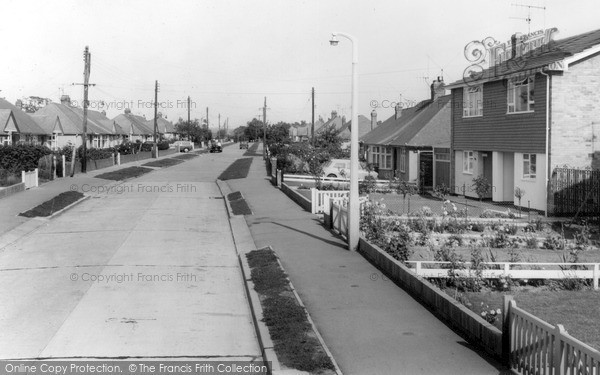 Photo of Wickford, Deirdre Avenue c.1965