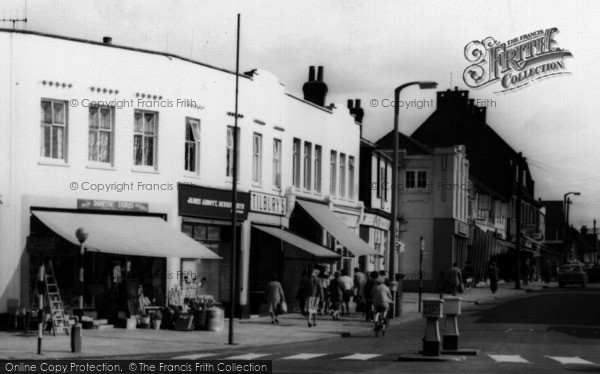 Photo of Wickford, Halls Corner Businesses c.1960