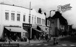 Wickford, Halls Corner Businesses c.1960