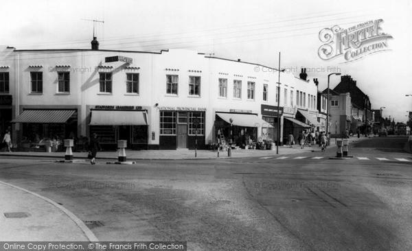 Photo of Wickford, Halls Corner c.1960