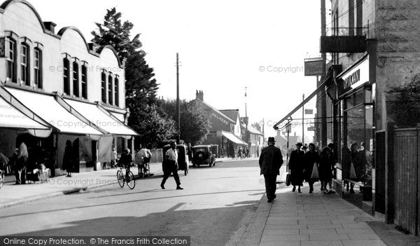 Photo of Wickford, High Street c.1950