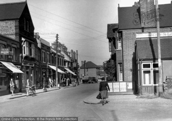 Photo of Wickford, High Street c1955