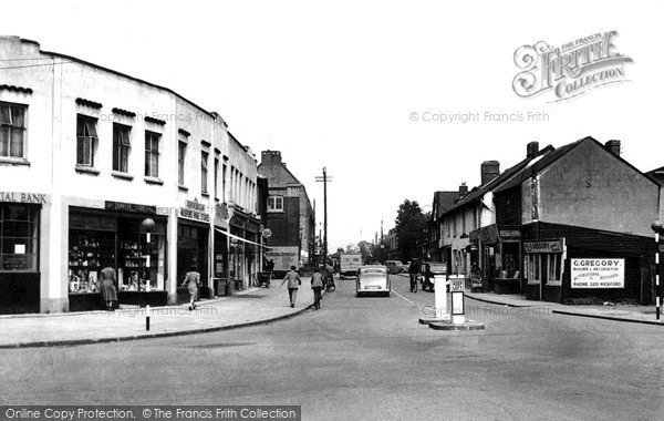 Photo of Wickford, High Street c1955, ref. W195007