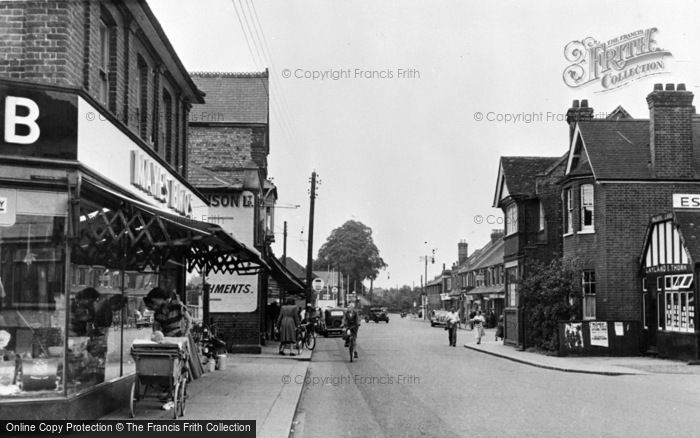 Photo of Wickford, High Street c.1955