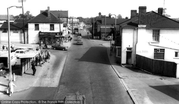 Photo of Wickford, High Street c.1965