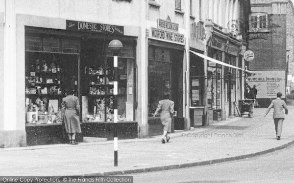 Photo of Wickford, High Street Shops c.1955