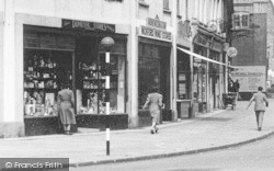 Wickford, High Street Shops c.1955