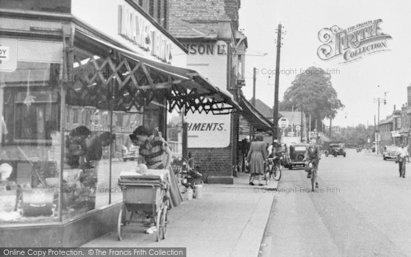 Photo of Wickford, High Street, Window Shopping c.1955