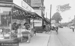 Wickford, High Street, Window Shopping c.1955