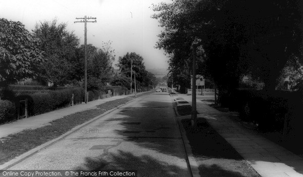 Photo of Wickford, Highcliffe Road c.1965