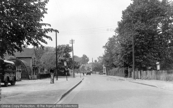 Photo of Wickford, London Road c.1955