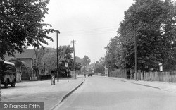 Wickford, London Road c.1955