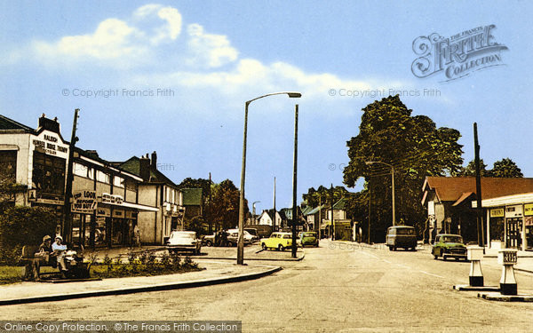 Photo of Wickford, London Road c.1960