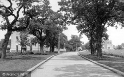 Wickford, Main Drive Runwell Hospital c.1955