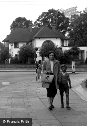 Mother And Son c.1955, Wickford
