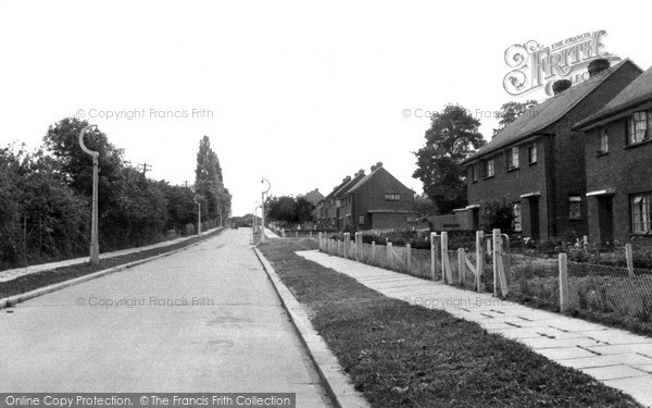 Photo of Wickford, New Estate c.1955