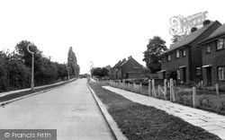 Wickford, New Estate c.1955