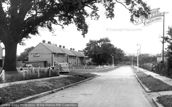 Photo of Wickford, New Estate c1955