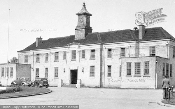 Photo of Wickford, Runwell Hospital Administration Block c.1955