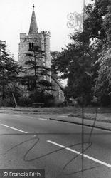 Runwell Parish Church c.1960, Wickford