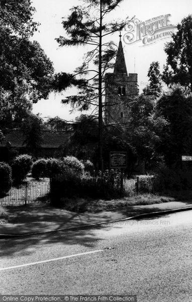 Photo of Wickford, Runwell Parish Church c.1960