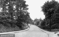 Wickford, Southend Road c.1955