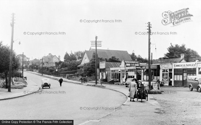 Photo of Wickford, Southend Road c.1955