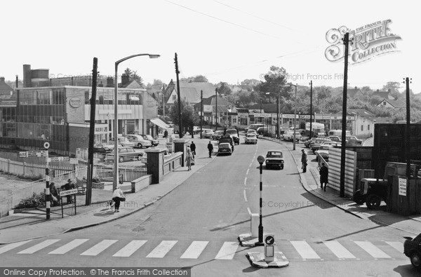 Photo of Wickford, Southend Road c.1965