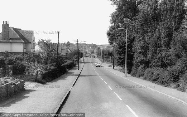 Photo of Wickford, Southend Road c1965