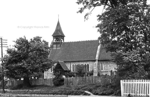 Photo of Wickford, St Catherine's Church c.1955